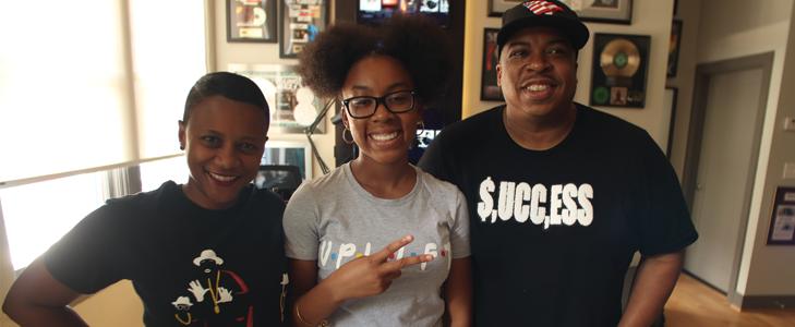 DJ Lonnie B and Aliyah the Dj - Richmond is for Famiyl Business